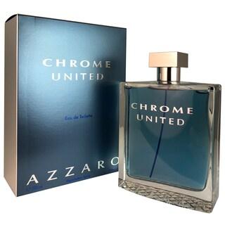Azzaro Chrome United Men's 6.8-ounce Eau de Toilette Spray