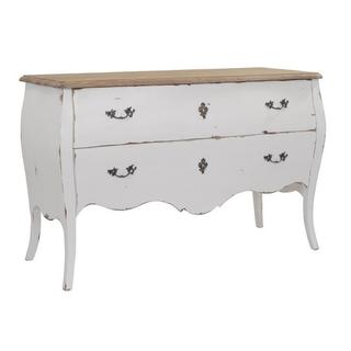 The Tegan Solid Wood Dresser with two Drawers