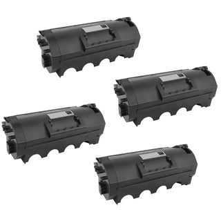 4-pack Compatible 62D1X00 621X Toner Cartridge for Lexmark MX711DE MX711DHE MX711DTHE MX812DE MX812DTE MX812DXE (Pack of 4)