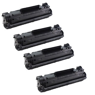 4-pack Compatible CF283A 83A Toner Cartridges for HP LaserJet Pro MFP M125 M125NW M127 M127FN M127W (Pack of 4)