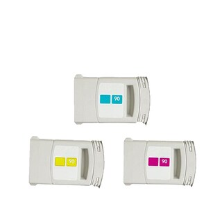 3-pack Compatible C5061A C5063A C5065A #90 Ink Cartridge for HP DesignJet 4000 4500 (Pack of 3)