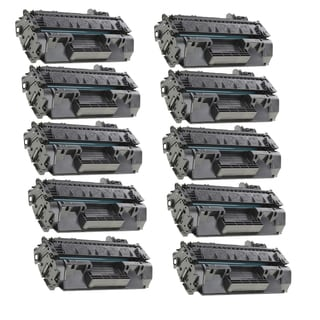 10-pack Compatible CF280X 80X Toner Cartridges for HP LaserJet Pro 400 MFP M401A M401D M401N M425DN (Pack of 10)