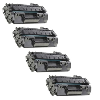 4-pack Compatible CF280X 80X Toner Cartridges for HP LaserJet Pro 400 MFP M401A M401D M401N M425DN (Pack of 4)