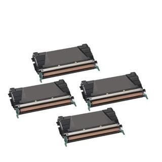 4PK Compatible C746H1KG Toner Cartridge For Lexmark C746DN C746DTN C746N C748DE C748DTE C748E X746DE X748DE X748DTE ( Pack of 4)