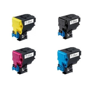 4-pack Compatible A0X5132 A0X5432 A0X5332 A0X5232 Toner Cartridge for QMS Bizhub C35, C35P (Pack of 4)