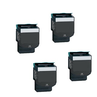 4-pack Compatible C544X1KG Toner Cartridge for Lexmark C540N C543DN C544DN C544DTN C544DW C544N (Pack of 4)