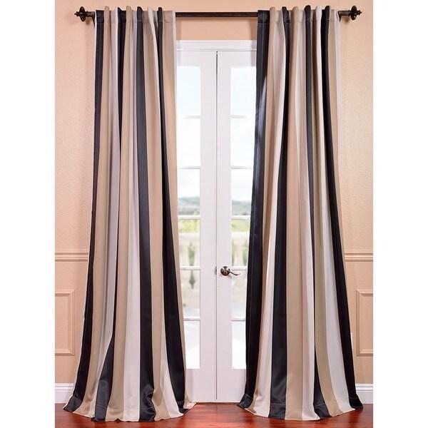 Shop Exclusive Fabrics Georgetown Stripe Blackout Curtain