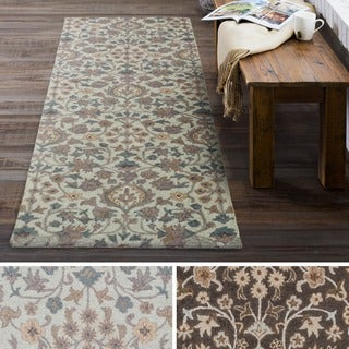 Hand Tufted Riso Wool Area Rug (2'6 x 8') - Thumbnail 0