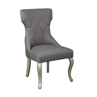 Signature Design by Ashley Coralayne Dark Gray Chairs (Set of 2)