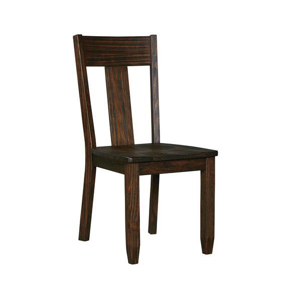 signature designashley trudell dark brown chairs (set of 2