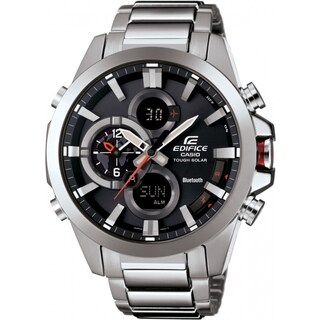 Casio Edifice ECB500D-1A Stainless Steel Smartphone Link Dual World Time Watch|https://ak1.ostkcdn.com/images/products/11064987/P18075216.jpg?_ostk_perf_=percv&impolicy=medium