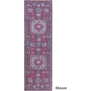 Hand Knotted Manosque Wool Rug (2'6 x 8')