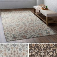 Gracewood Hollow Morrison Hand Tufted Wool Area Rug