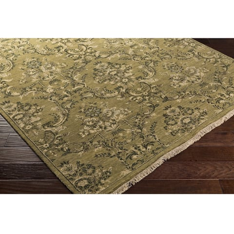 Copper Grove Volcans Hand Knotted Indoor Area Rug
