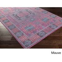 Hand Knotted Manosque Wool Area Rug - 9' x 13'