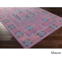 Hand Knotted Manosque Wool Area Rug - 8' x 10'