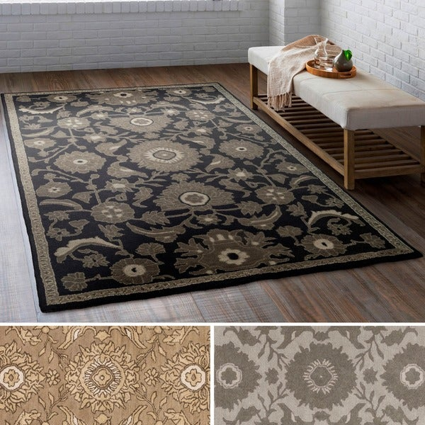 Hand Tufted Puteaux Wool Area Rug (4' x 6')