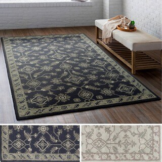 Safavieh Handmade Cedar Brook Navy Natural Jute Rug 4 X