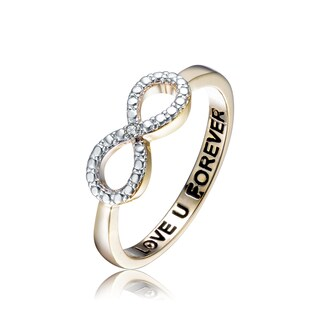 Collette Z Sterling Silver White Cubic Zirconia Ring