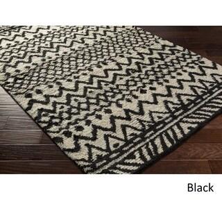 Hand Woven Snodland Wool Rug (9' x 12')