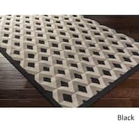 Hand Woven Soham Wool Area Rug - 8' x 11'