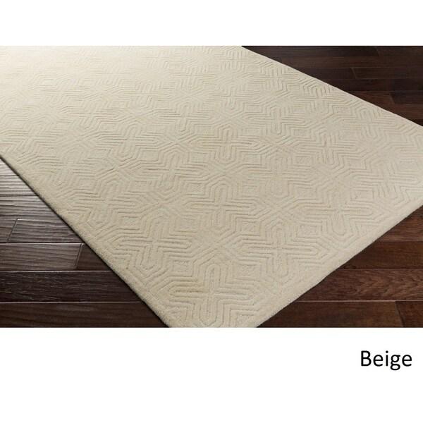 Shop Hand Tufted Skegness Wool Area Rug 8 X 11 On