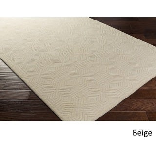 Hand Tufted Skegness Wool Rug (8' x 11')
