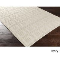 Hand Woven St.Mawes Wool Area Rug - 8' x 10'
