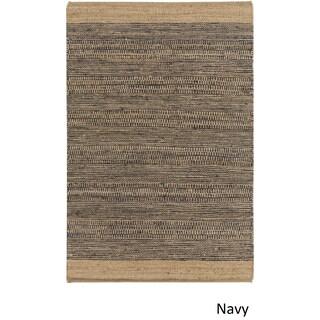 Hand Woven Sandbach Jute/Cotton Area Rug (4' x 6') (4 options available)