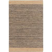 Hand Woven Sandbach Jute/Cotton Area Rug - 4' x 6'