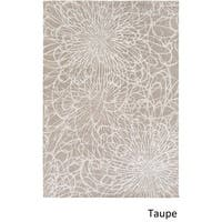 Silver Orchid Andral Hand Knotted Indoor Area Rug - 4' x 6'