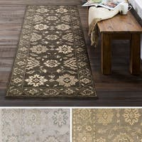 "Hand Tufted Rodez Wool Area Rug - 2'6"" x 8'"