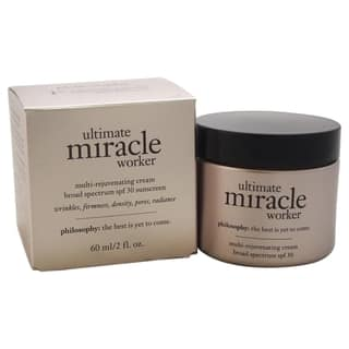 Philosophy Ultimate Miracle Worker 2-ounce Multi-Rejuvenating Cream SPF 30|https://ak1.ostkcdn.com/images/products/11065487/P18075592.jpg?impolicy=medium
