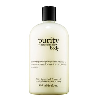 Philosophy Purity Made Simple Body 3-in-1 Shower, Bath, and Shave Gel