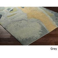 Hand Knotted Petersham Wool Area Rug - 2' x 3'