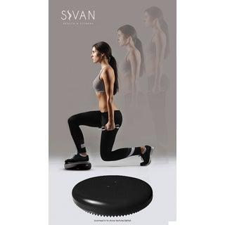 Sivan 35-centimeter Black Air Cushion for Balance and Stability Training