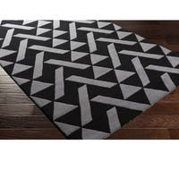 Hand Tufted Saintes Wool Area Rug - 8' x 10'