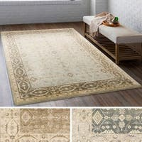 Hand Tufted Rockford Wool Area Rug - 8' x 10'