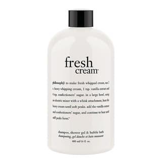 Philosophy Fresh Cream 16-ounce Shampoo, Shower Gel, and Bubble Bath|https://ak1.ostkcdn.com/images/products/11065625/P18075807.jpg?impolicy=medium