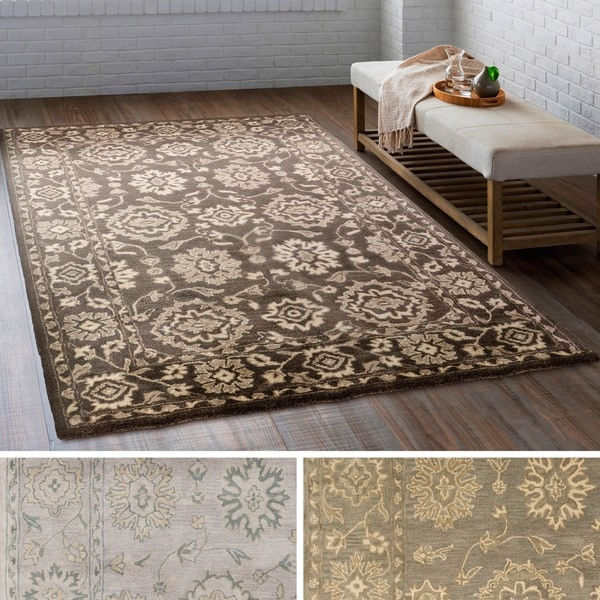 6x9 Rugs Hand Tufted Rodez Wool Area Rug 6 X27