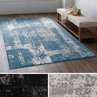 Carbon Loft Torricelli Distressed Abstract Area Rug - 5'3 x 7'3