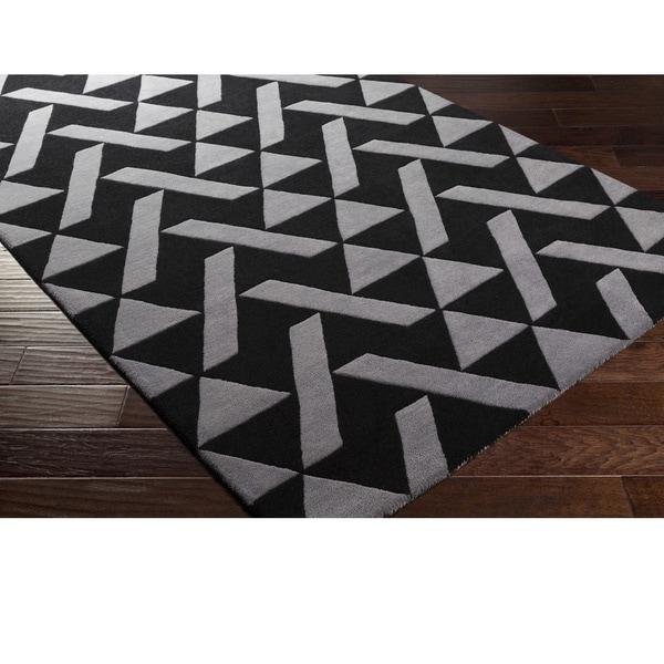 Hand Tufted Saintes Wool Area Rug - 4' x 6'