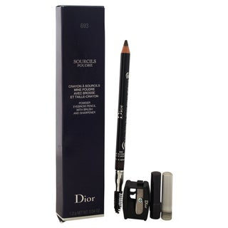 Dior Sourcils Poudre Powder Eyebrow Pencil with Brush and Sharpener 693 Dark Brown