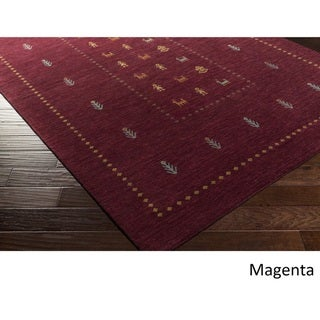 Hand Loomed Stanhope Wool Area Rug - 5' x 7'6""