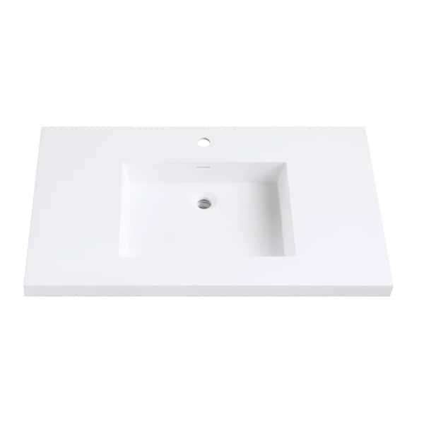 Avanity VersaStone 37 Inch Solid Surface Vanity Top