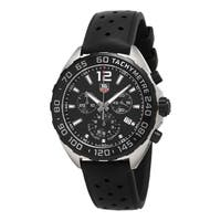 Tag Heuer Men's CAZ1110.FT8023 'Formula 1' Chronograph Black Rubber Watch