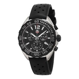 Tag Heuer Men's CAZ1110.FT8023 'Formula 1' Chronograph Black Rubber Watch
