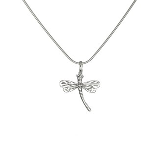 Jewelry by Dawn Dragonfly Sterling Silver Snake Chain Necklace