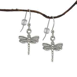 Jewelry by Dawn Small Dragonfly Sterling Silver Earrings