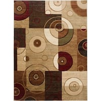 Home Dynamix Tribeca Collection Contemporary Multicolored Area Rug (1'7 x 2'7.5) - 1'7 x 2'7